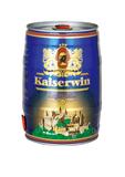 德国凯撒5L桶装黄啤酒