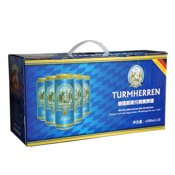托姆500ML黄啤礼盒-